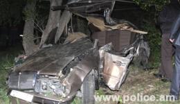 Ավտոպատահարի արդյունքում երեք զոհ