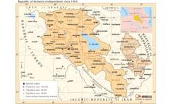 Հայաստանի գրախանութներում վաճառվում են ապազգային քարտեզներ