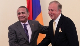 Ազգային ժողովի Պատվո մեդալ Ալբեր Բոյաջյանին
