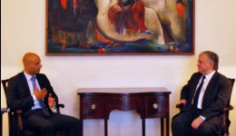 ԱԳ նախարարն ընդունեց  ՆԱՏՕ-ի գլխավոր քարտուղարի Հարավային Կովկասի և Կենտրոնական Ասիայի հարցերով հատուկ ներկայացուցչին