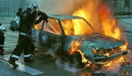 Մեքենան ամբողջությամբ այրվել է