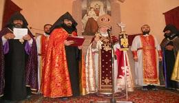 Ամենայն Հայոց Կաթողիկոսն  օծեց Թբիլիսիի Ս. Էջմիածին եկեղեցին
