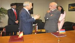 «Հայաստանի Հանրապետության և Իսպանիայի Թագավորության միջև օդային տրանսպորտի մասին» համաձայնագիր է ստորագրվել