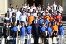 Պաշտոնական. Նախագահն ու երեխաները