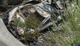 «ՎԱԶ-2121»-ը շրջվել է ձորը. վարորդը տեղում  մահացել է