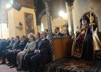 Նախագահը ներկա է գտնվել  մայր աթոռում Գարեգին Բ-ի 60-ամյակին նվիրված հայրապետական մաղթանքին