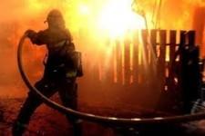 Փայտյա տուն է այրվել