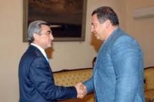 Սերժ Սարգսյանն ու Գագիկ Ծառուկյանը հանդիպել են