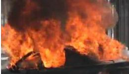 Ավտոմեքենա է այրվել Սարալանջի փողոցում