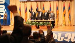 Քարոզարշավի յոթերերորդ օրը. ՀԱԿ համագումարում ջան ասեցին, ջիգյար լսեցին