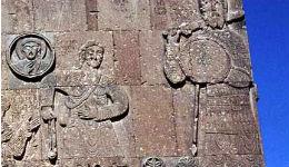 Աղթամարի Ս. Խաչի պատկերաքանդակներից մեկը ներկայացնում է Աստվածաշնչային հայտնի թեման