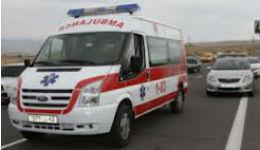 Ուղևորուհին մահացել է, իսկ վարորդն ու մյուս 2 ուղևորները տեղափոխվել են հիվանդանոց