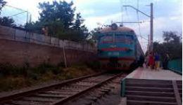 Քաղաքացին ընկել է գնացքի տակ