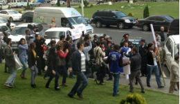 Հրմշտոց՝ ՀԱԿ ակտիվիստների և ոստիկանների միջև