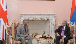 Սերժ Սարգսյանը հանդիպել է արքայազն Չարլզի հետ