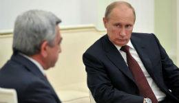 Սերժ Սարգսյանի դեմարշը Ռուսաստանին