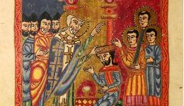 Հայոց ավանդական արարողակարգով վերջին թագավորական օծումը տեղի է ունեցել Աղթամարում