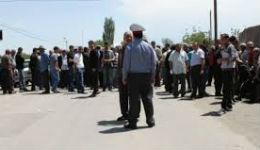 Արմավիրցիները փակել են Արմավիր-Երևան ճանապարհը