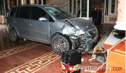 Արտակարգ իրավիճակ՝ «Շանթ» ռեստորանային համալիրում. եղբայրը Volkswagen-ով մխրճվել է հարազատ եղբորը պատկանող ռեստորան