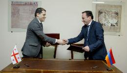 Ստորագրվել է հայ-վրացական ռազմական համագործակցության 2014թ. ծրագիրը