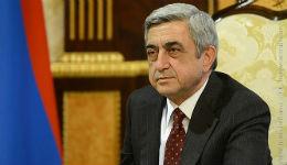 Սա մեզ համար առաջին հերթին խաղաղության տոն է. Սերժ Սարգսյան