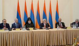Տեղի է ունեցել «Հայաստան» համահայկական հիմնադրամի հոգաբարձուների խորհրդի 23-րդ նիստը