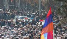 Երևանում բարիկադներ են կառուցվել