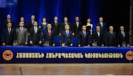 ՀՀԿ գործադիր մարմնի կազմն՝ առանց Տիգրան Սարգսյանի
