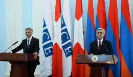 Սերժ Սարգսյանը և Դիդիե Բուրկհալտերն ամփոփել են բանակցությունների արդյունքները
