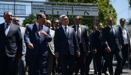 Նախագահ Սերժ Սարգսյանը շրջայց է կատարել Երևանում