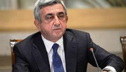 Սերժ Սարգսյանը ցավակցական հեռագիր է հղել Ֆրանսիայի նախագահ Ֆրանսուա Օլանդին