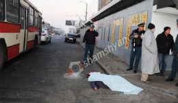 Երևանում տրոլեյբուսի կին վարորդը վրաերթի է ենթարկել 2 հետիոտնի. մեկը տեղում մահացել է