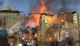 Խոշոր հրդեհ Գուգարք գյուղում.այրվել է երկհարկանի շենքի 6 բնակարան