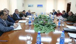 Հանդիպումներ ՊՆ վարչական համալիրում