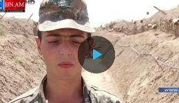 ԼՂՀ ՊԲ-ի կողմից ջախջախիչ պարտության մատնված թշնամու մարտական դիրքերը (տեսանյութ)