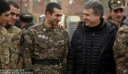 ՀՀ վարչապետն այցելել է մարտական հենակետ