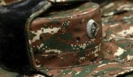 Արցախում հակառակորդի կրակոցից ՊԲ զինծառայող է զոհվել