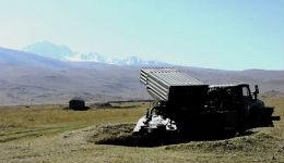 Հայաստանում ՌԴ ԶՈւ զինծառայողները զորավարժություն են անցկացնում «Գրադ» համակարգերով