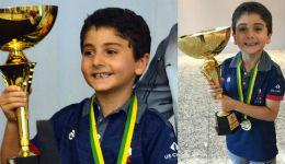 7–ամյա Արեն Էմրիկյանը դարձել է Շախմատի աշխարհի չեմպիոն
