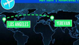ԱՄՆ-ի հայերը ստորագրահավաք են սկսել Լոս Անջելես-Երևան-Լոս Անջելես ուղիղ չվերթի պահանջով