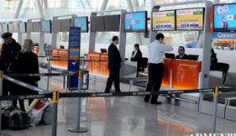 «Զվարթնոց» օդանավակայանում խուճապային իրավիճակ է