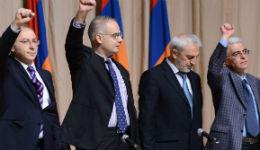 Կոնգրեսի ներկայացուցիչները հանդիպել են Արմեն Սարգսյանի հետ. Լևոն Տեր-Պետրոսյանը ներկա չի եղել