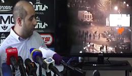Քոչարյանի փաստաբանները տեսանյութ հրապարակեցին, թե ինչպես են Մարտի 1-ին ցուցարարների կողմից կրակում